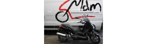 Yamaha x-max 125cc 2009 negra