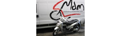 Moto china 125cc plata
