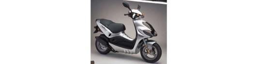 Suzuki zillon 49cc negra