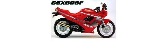 Suzuki gsx 600f 91
