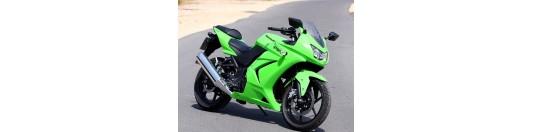 NINJA 250cc verde 2010
